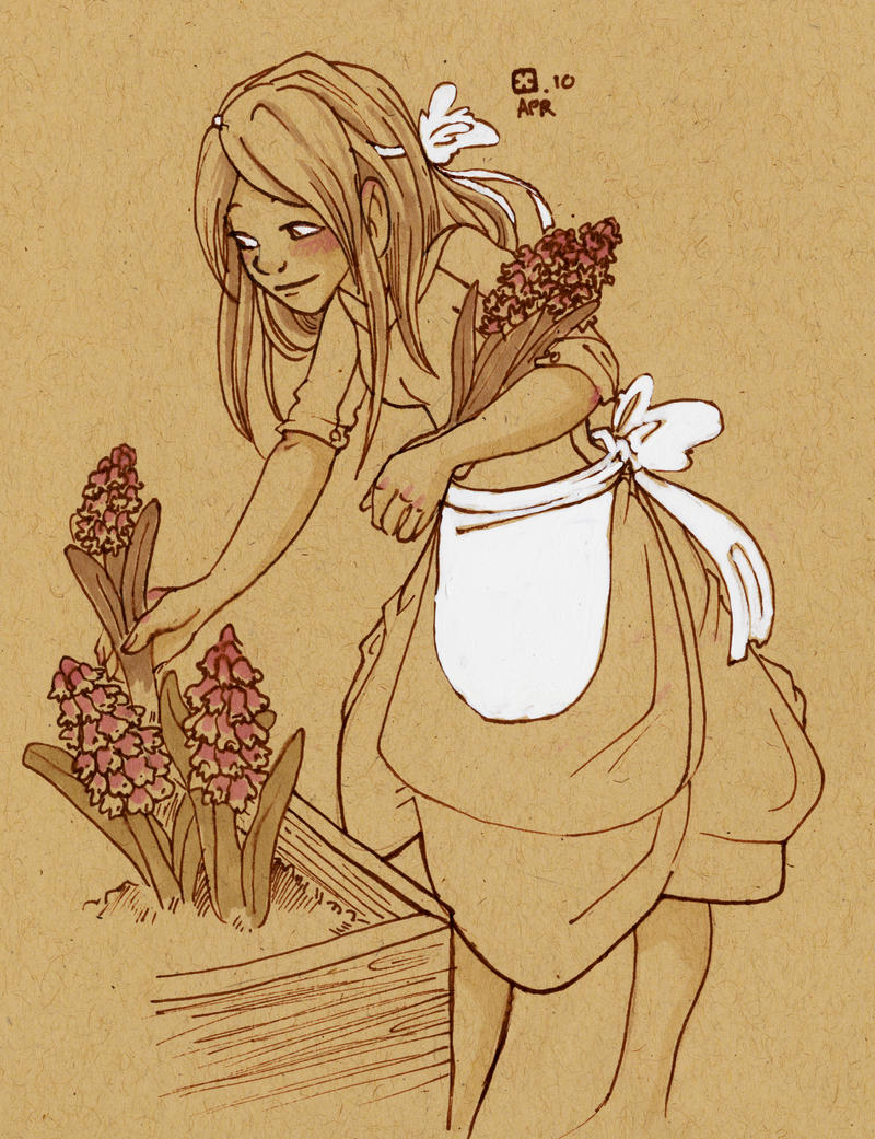 Hyacinth by StressedJenny