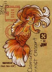 Goldfish Girl Correspondence by StressedJenny