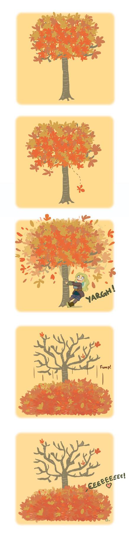 Autumn by StressedJenny