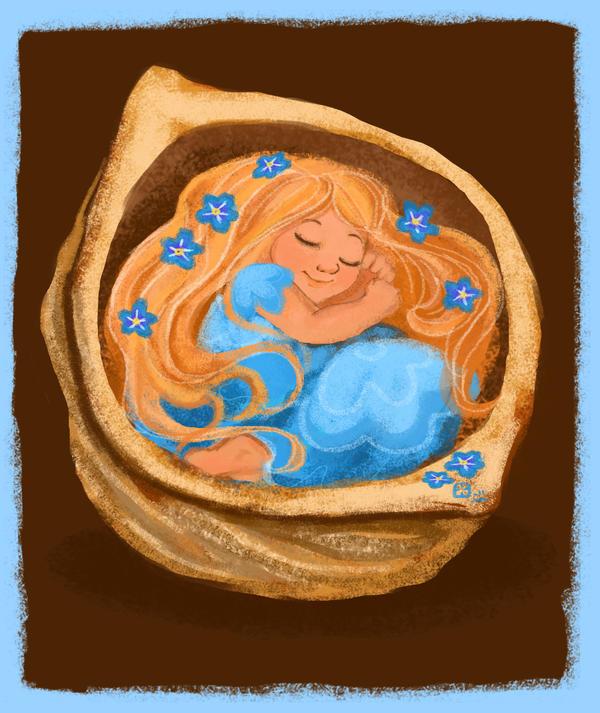 Thumbelina by StressedJenny