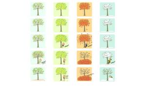 Tree Shakin Seasons wallpaper.