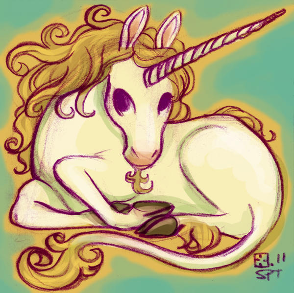Unicorn by StressedJenny