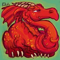 Dragon by StressedJenny