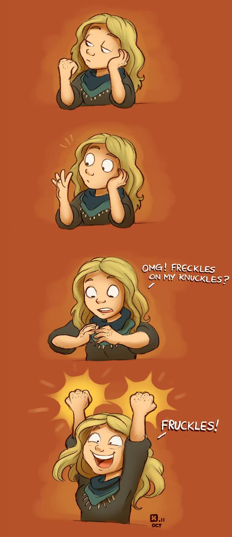Fruckles by StressedJenny