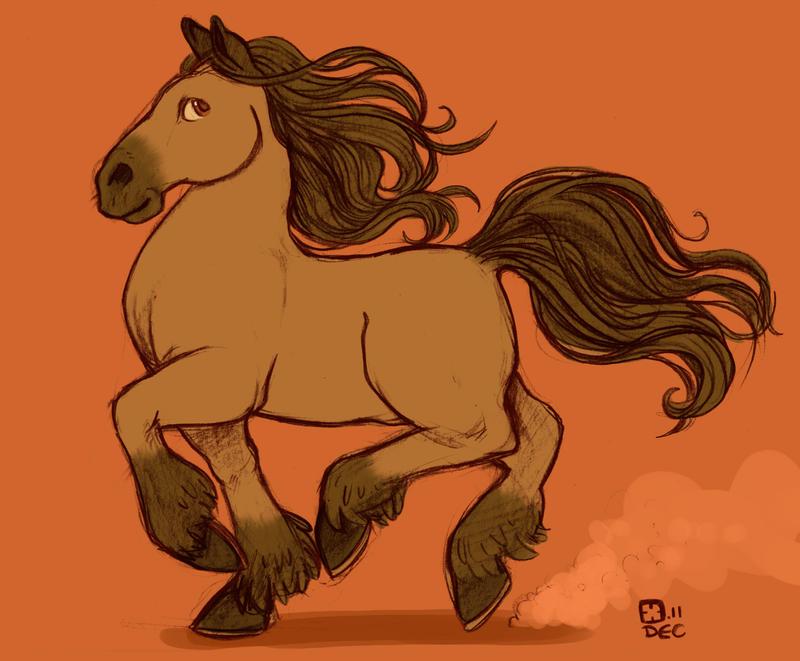 Horse by StressedJenny