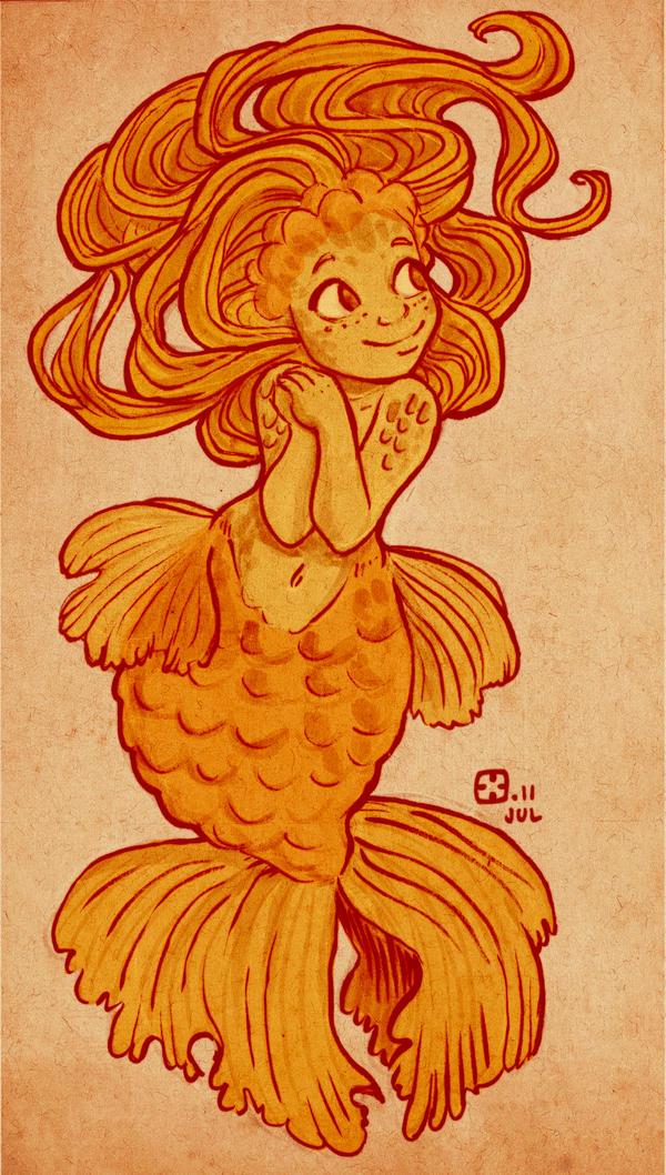 Little Goldie by StressedJenny