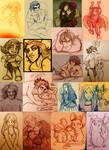 Mias and Elle Sketches feb2012