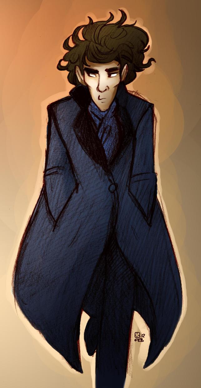 Sherlock by StressedJenny