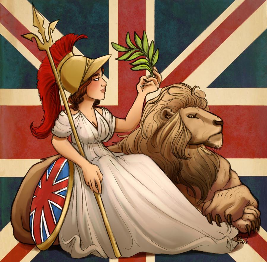 Rule Britannia By Stressedjenny On Deviantart