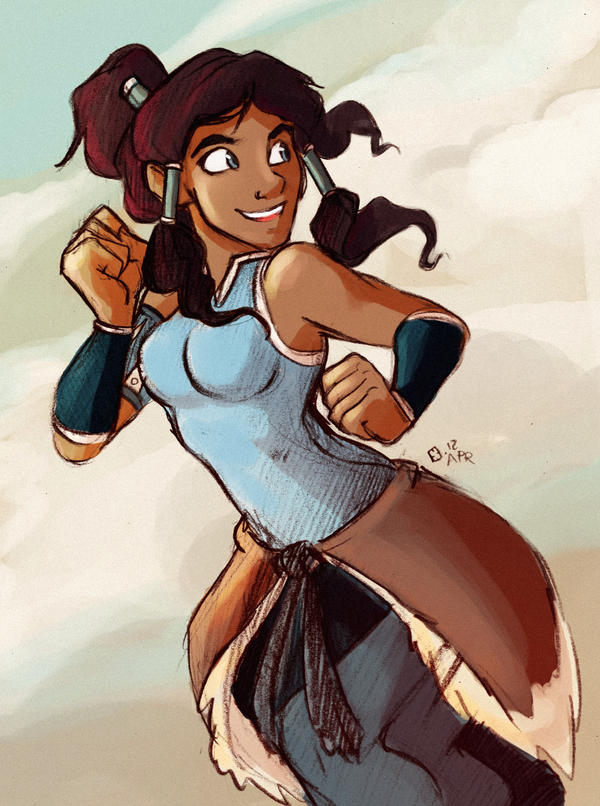 Korra is Legend by StressedJenny