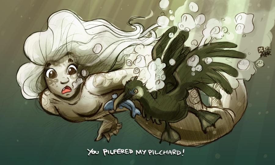 Pilchard Pilfer by StressedJenny