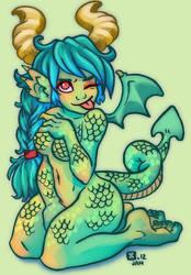 Dragon Gal colours