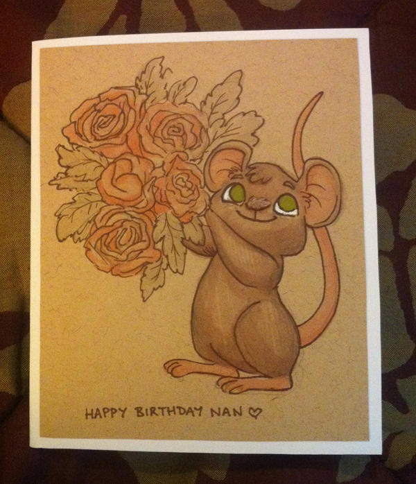 Happy Birthday Nan by StressedJenny