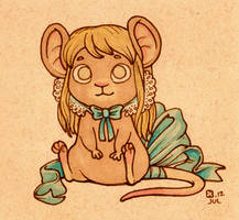 Frilly Mouselle by StressedJenny