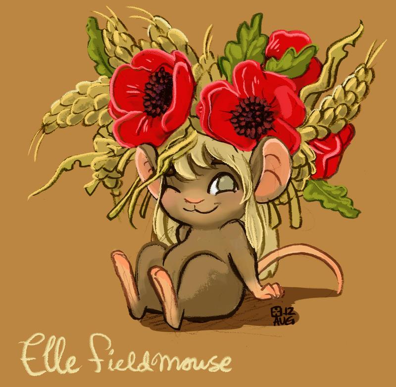 Elle Fieldmouse by StressedJenny