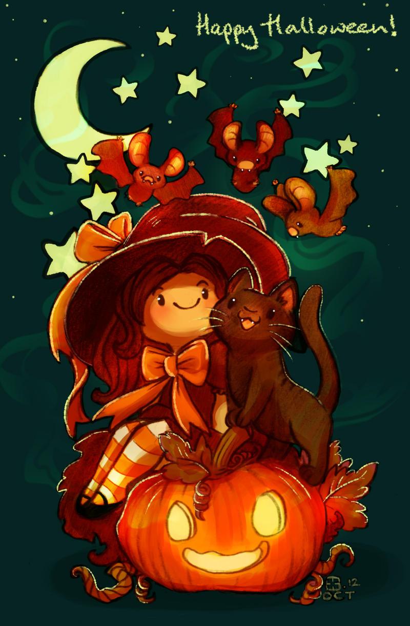 Happy Halloween 12 by StressedJenny