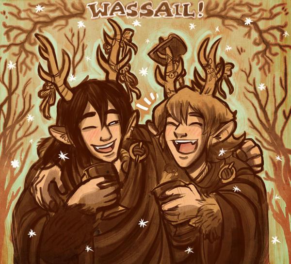 WASSAIL! by StressedJenny