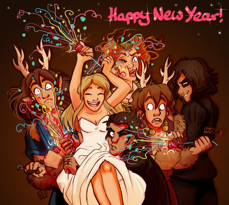 Happy New Year! by StressedJenny