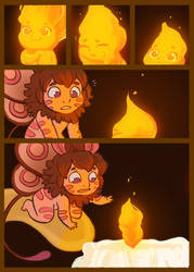 Moth and the Flame 11 by StressedJenny
