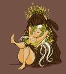 Mudman and Spring: Embrace by StressedJenny