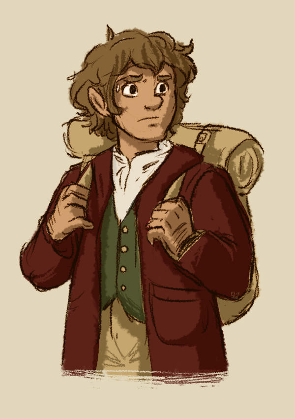 Bilbo by StressedJenny