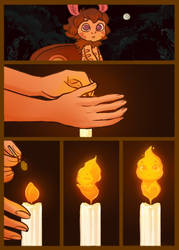 Moth and the Flame 17 by StressedJenny
