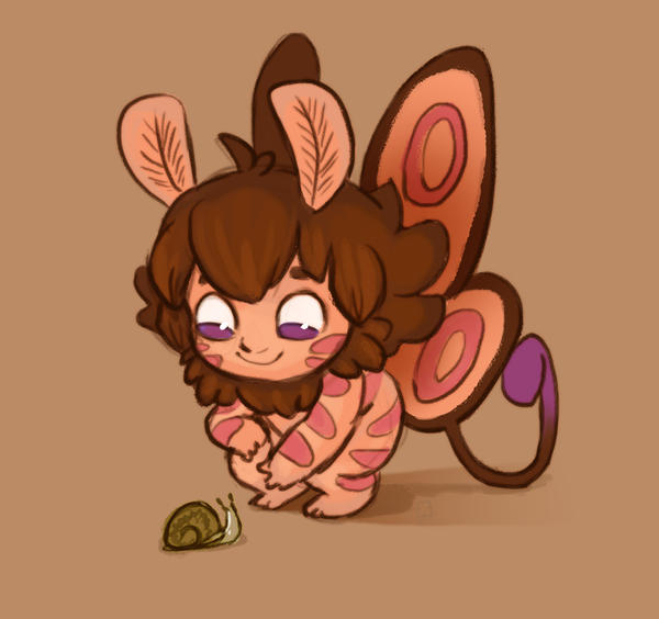 Moff and Baby Snail by StressedJenny
