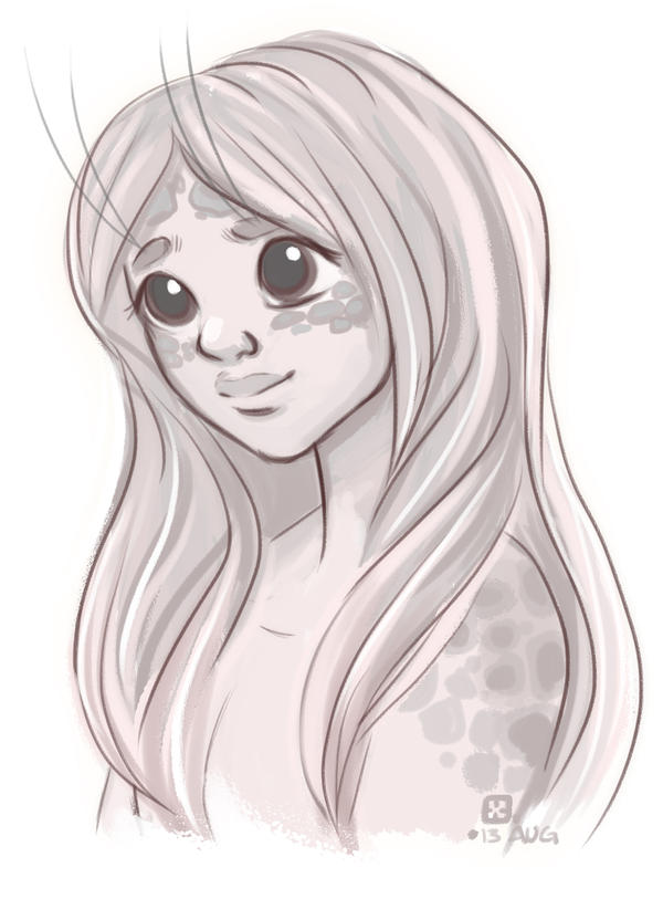 Selkie Girl by StressedJenny