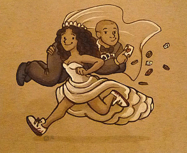 Runaway Bride by StressedJenny