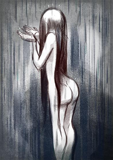 Rain by StressedJenny