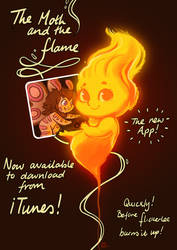The Moth and the Flame now on iTunes.