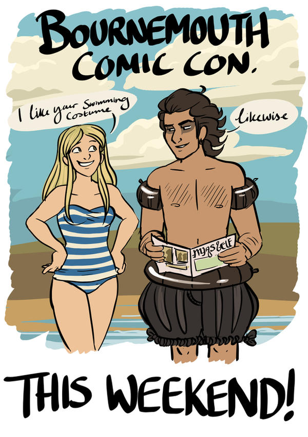 Bournemouth Comic Con by StressedJenny