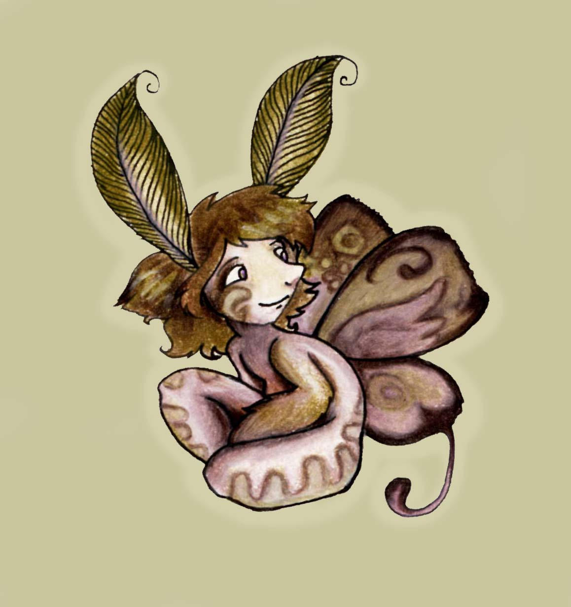 Moth by StressedJenny