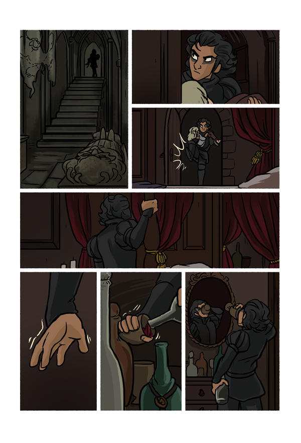 Mias and Elle Chapter2 pg42 by StressedJenny