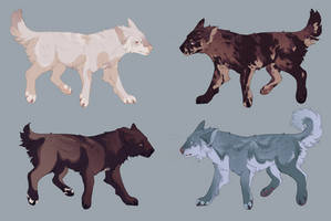 canine adopts [1/4 open]