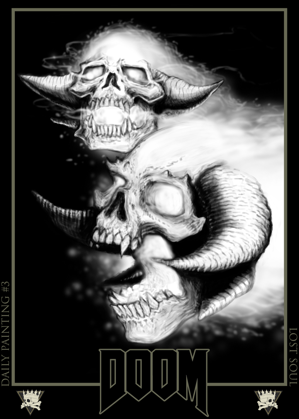 Lost Soul Doom Deviantart: Doom Daily Paint #3: Lost Souls By MagnumImago On DeviantArt