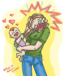 Mommy, I LOVE You! by molicalynden