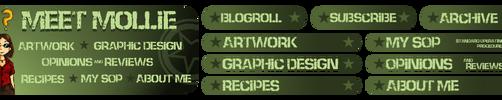 Meet Mollie Blog Graphics Design by molicalynden