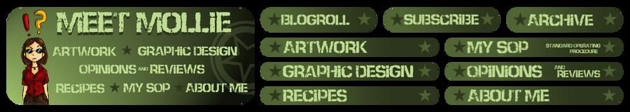 Meet Mollie Blog Graphics Design