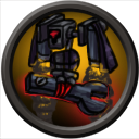 Kaiju-A-GoGo Ability Icons -Ginormasaurus 05 by mosobot64