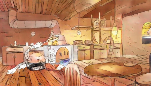 Ohmworld - The Kitchen of the Tesla House by mosobot64