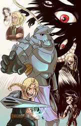 Fullmetal Alchemist - Pride and Loss