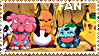 Pokemon Stamp by JamesBondageXD