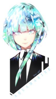 Houseki no Kuni oc Aquamarine