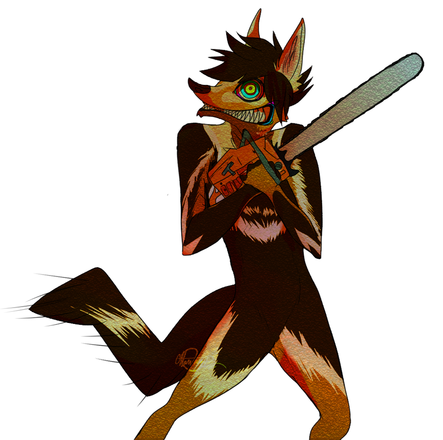 rocking_on_your_chainsaw__by_limeypie-d4