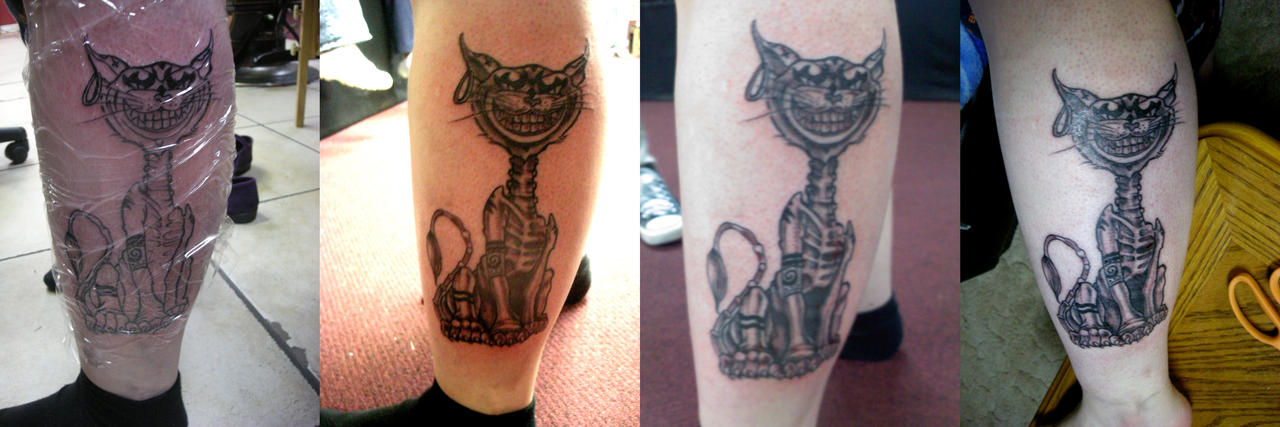 Cheshire Cat tattoo by ~st-minority on deviantART