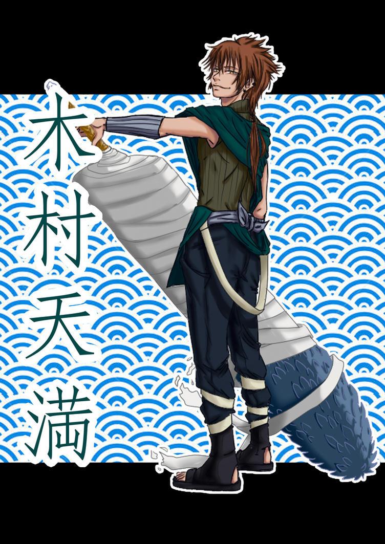 7 Legends of Kirigakure - Kimura Tenma by itsnattie
