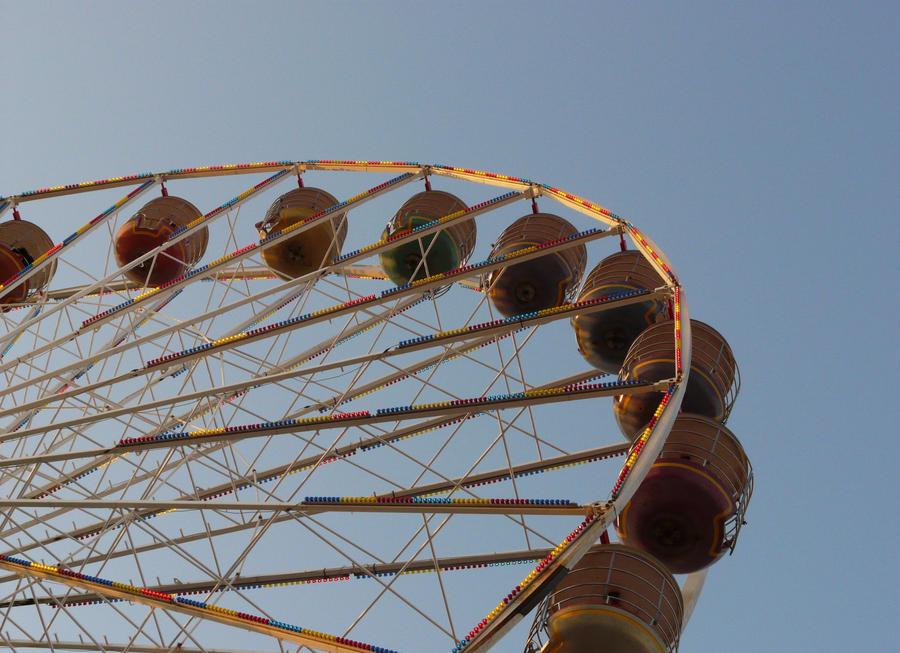 Pier Ferris Wheel by chameleonkid