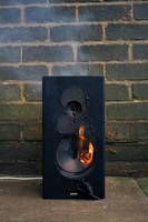 Speaker Destruction Stock 3 by chameleonkid