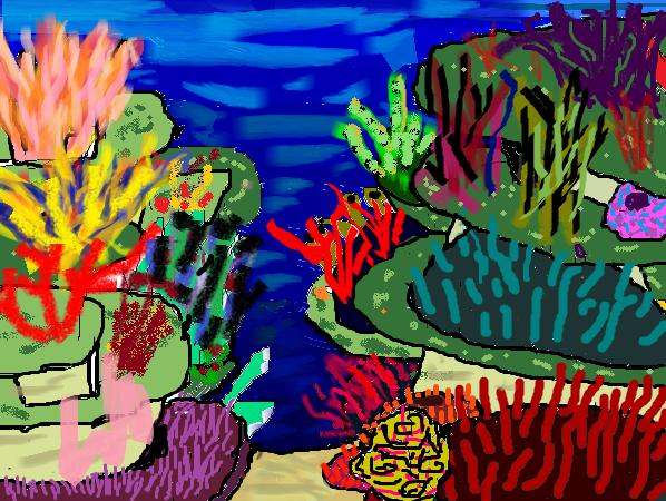 Elegant Great Barrier Reef By ArtyFeather ...